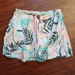 Girls Old Navy Tropical Jersey Skirt
